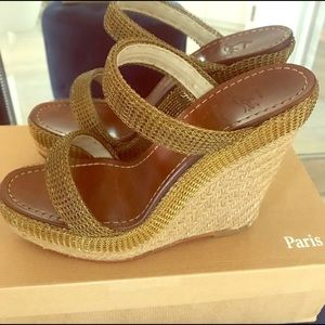 Christian Louboutin espadrille Wedges